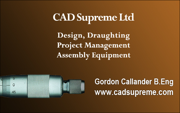 Cad Supreme Ltd logo - Design solutions for the engineering sector